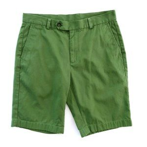 BROOKS BROTHERS 346 Men's Green Casual Shorts 33